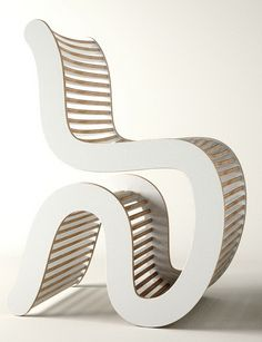 Spline White Chair