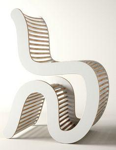 Spline White Chair