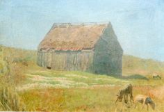 Laurits Tuxen - Sheep Cabin, Skagen