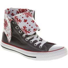 Converse Ctas X High ($26) ❤ liked on Polyvore featuring shoes, sneakers, converse, zapatos, sapatos, gargoylerd smu, converse sneakers, converse footwear, converse trainers and converse shoes