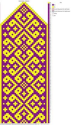 Knitting Charts, Knitting Socks, Knitting Patterns, Crochet Mittens, Mittens Pattern, Crochet Chart, Crochet Motif, Cross Stitch Bird, Cross Stitch Patterns