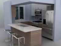 small kitchen design IKEA