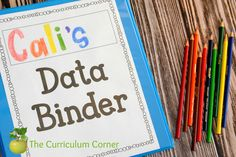 Student data tracking is becoming a more important part of the classroom. Use this free collection of binder pages to make data easier to manage. Student Data Binders, Student Data Tracking, Data Folders, Student Goals, Student Portfolios, Teacher Planning Binder, Teacher Tips, Teacher Resources, Curriculum Planning