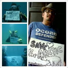 Save The Arctic, First World, Philippines, Mens Tops