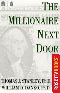 Free download The Millionaire Next Door a bestselling wealth management pdf book authorized by Thomas J. Stanley.