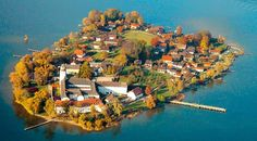 Die Fraueninsel in Lake Chieemsee, Germany. I got married in this church/convent.