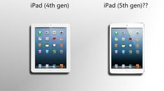 iPad 5 Ready To Be Announced In March 2013