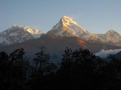 Sunrise up on Poon Hill