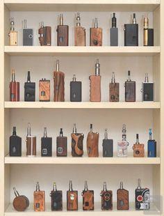 Awesome collection!  #boxmods #18650 #dual18650 #subohm #wood #wooden #carved #mods #vapemods #vapelife #vapeon #vapenation #vapestagram #instavape #vapecommunity #vapeallday #vapepics #rda #rba #coils #wicking #eliquid #LiquidSoulVapor