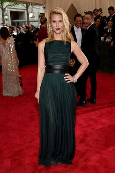 Claire Danes in Valentino - not a fan of the hair/makeup but I do love this dress!