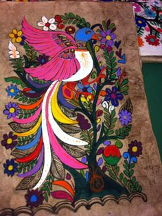 Paintings Mexican amate paper