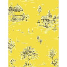 Sophie Conran Lazy Days Paste the Wall Wallpaper,Sunflower, 950706