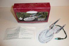 USS Enterprise NCC-1701-E Hallmark Ornament Ship 1701E Star Trek Next Generation #Hallmark