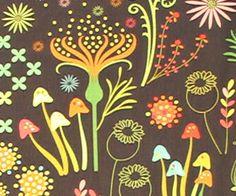 Helen's Garden Enchanted Mineral Cotton Fabric, Michael Miller