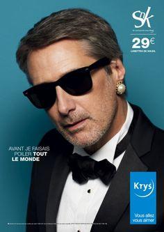 La marque de lunettes Krys revient une nouvelle fois avec sa célèbre saga  publicitaire « avant j étais a65fe7d83334