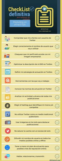 Chuleta para marketing en Twitter