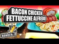 LEARN HOW TO COOK - Bacon Chicken Fettuccine Alfredo - Handle It