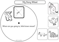 Brilliant resources related to the books of Julia Donaldson. Try the Story Wheel to support re-telling. Or sequence events, make masks and finger puppets and write new verses for Room on the Broom