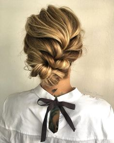 Effortless braided updo hairstyle ,wedding hairstyle ideas