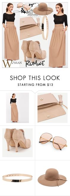 """ROMWE#7"" by sabahetasaric ❤ liked on Polyvore"