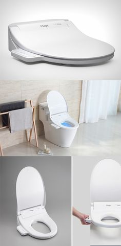 'The Magic' is a toilet frame which won the Red Dot design award for the year 2016, has embedded in it a wide variety of controls that allow you to work the lids and even UV purify the commode without having to touch it anywhere...READ MORE at Yanko Design !