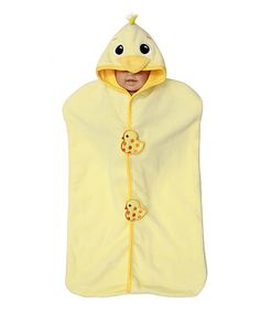 Look at this #zulilyfind! Yellow Duck Velour Bunting by Frenchie Mini Couture #zulilyfinds
