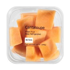 Garden Highway Foods Cantaloupe Chunks, 10 oz ❤ liked on Polyvore featuring food, fillers, food and drink, food & drink, orange fillers and backgrounds