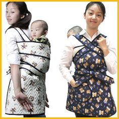 Podaegi - Korean baby carrier |Pinned from PinTo for iPad|