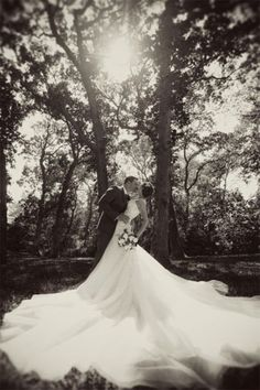 Gorgeous photo of the wedding gown
