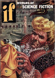 "If vol 6 no 3, April 1956. Cover by Kelly Freas illustrating ""The Executioner"" by Frank Riley."