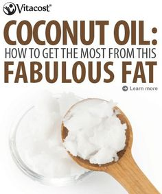 5 Ways to Squeeze More Coconut Into Your Day - are you using Coconut Oil yet? I use it in my coffee (yes, in my coffee, with cinnamon) and on my skin- heavenly. #fitfluential #vitacost #client