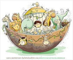 Noah's Ark by Rachelle Anne Miller, via Flickr