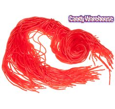 Red Licorice Laces Candy: 2LB Bag