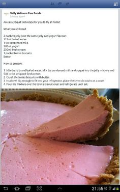 Yogurt Jelly Tart