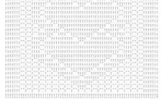 Resultado de imagem para graficos de tapetes quadrado em tamanha real de croche