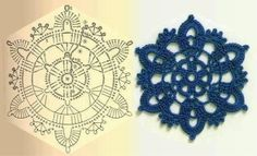 Angels Cradle: Crochet motifs