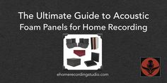Shopping for acoustic foam for your home studio? In this in-depth guide, I walk you through all the steps of buying acoustic panels.