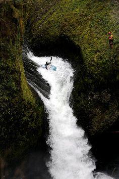 Doing it!! #kayak #kayaking #whitewater