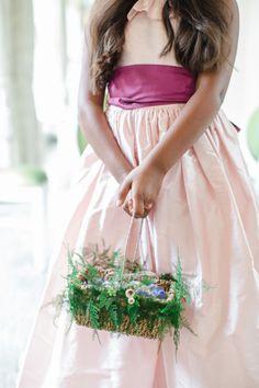 The perfect attire for a secret garden wedding: http://www.stylemepretty.com/destination-weddings/2015/05/27/romantic-secret-garden-inspired-london-wedding/ | Photography: Catherine Mead - http://photographybycatherine.co.uk/