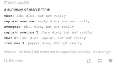 That's what I've been saying! Marvel, how I love you, but y'all need to find a new unpredictable event for your stories because that ones becoming very predictable.