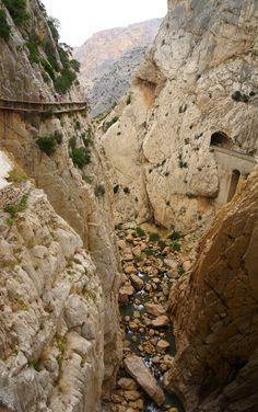 El Caminito del Rey, El Chorro, Andalucia, Spain