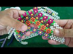 Jewelry Making Tutorials, Beading Tutorials, Slide Flip Flops, Bargello Needlepoint, Beach Foot Jewelry, Micro Macrame, Huaraches, Bead Art, Bead Weaving