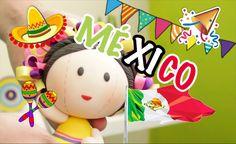 Muñequitas Mexicanas | Pasta Flexible