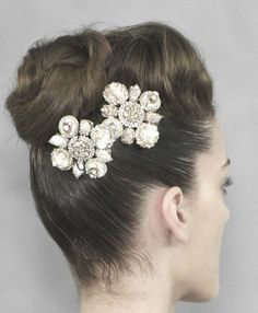 lavandula: chanel haute couture spring/summer 2008 updo with a silver headpiece  #PintoWin #NapoleonPerdis #Cinderella
