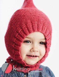 Эта шапочка-шлем спицами дана на несколько размеров. Самый маленький - для грудничков