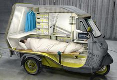 Bufalino camper could make your life easy ... pretty versatile little vehicle! http://walyou.com/bufalino-camper-could-make-your-life-easy/