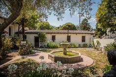 Mission Santa Cruz - courtyard gardens | Flickr - Photo Sharing!