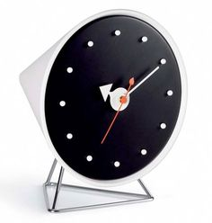 Timeless classic: 1950s George Nelson Cone Clock by Vitra