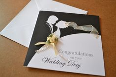 beautiful wedding card idea