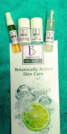 B Natural Organics Skin Care Review